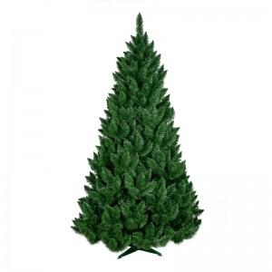 Tradiční hustá borovice v přírodní zelené barvě