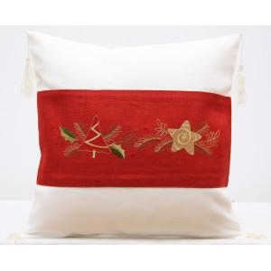 Povlak na polštářek vánoční