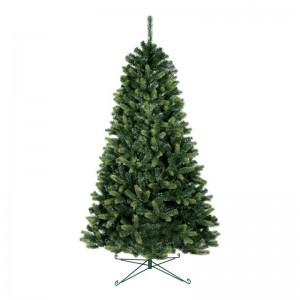 Umělý vánoční stromek se světlejšími konci větviček