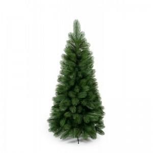 Zelený vánoční stromek s dlouhým jehličím