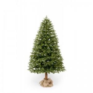 Exkluzivní vánoční jedle s dřevěným kmenem