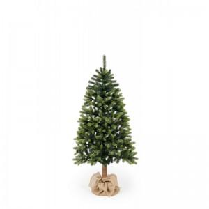 Vánoční stromek hustá jedlička s kmenem nebo stojanem