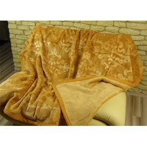 Teplé Španělské deky světle hnědé barvy