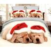 Kvalitní ložní povlečení s vánočním motivem
