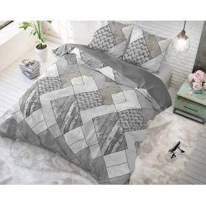 Moderní povlečení na postel KNITTED SHAPES
