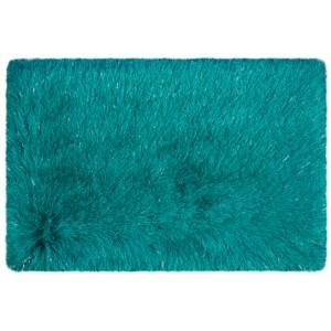 Koupelnová předložka tyrkysové barvy