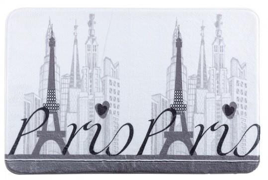 Eiffelová věž šedá předložka před vanu