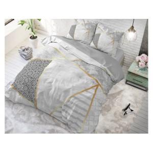 Bílé povlečení na postel bavlněné BLOGGIC WHITE