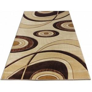 Moderní kusový koberec do ložnice