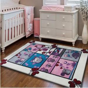 Kvalitní dětský koberec se zvířátky