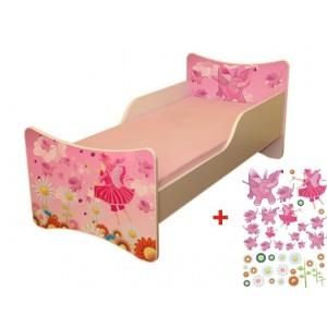Dětská postel s motivem víly