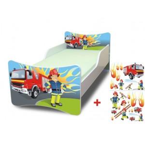 Požárník dětská postel pro chlapce