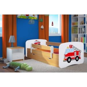 Chlapecká postel s motivem hasičského auta