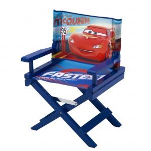 Dětská rozkládací židlička modře McQueen