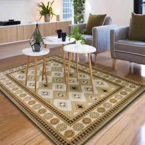 Koberec do obývacího pokoje v orientálním stylu