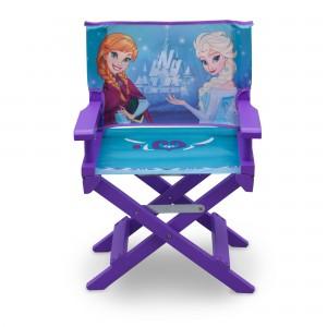 Dřevěná dětská stolička ve fialové barvě Frozen