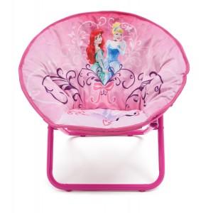 Měkká polstrovaná židle s motivem princess