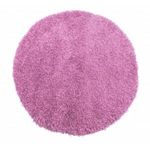 Světlo fialový koberec shaggy