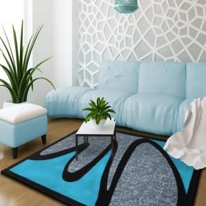 Stylový koberec do obývacího pokoje