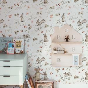 Tapety na zeď s motivem zajíčků