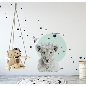 Malý lví král nálepka na zeď