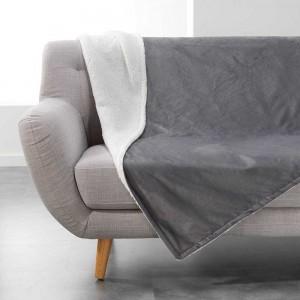 Kvalitní šedá deka AUSTRAL