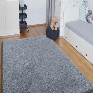 Světle šedý koberec z kolekce SHAGGY