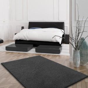 SHAGGY koberec v tmavě šedé barvě