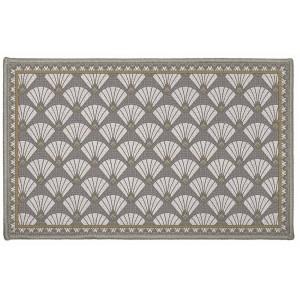 Luxusní kobereček do koupelny s vějířovými vzorem ART DECO