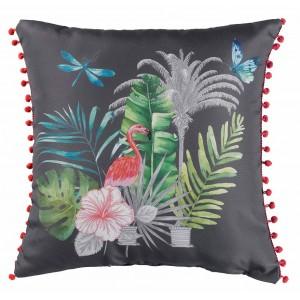 Kvalitní dekorační polštář s kuličkami na okraji PARADIZIO