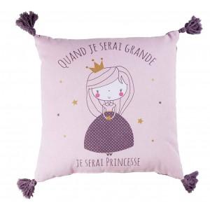 Dekorační polštář pro dívky s princeznou ALICE