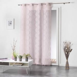Elegantní růžové záclony LOZAE