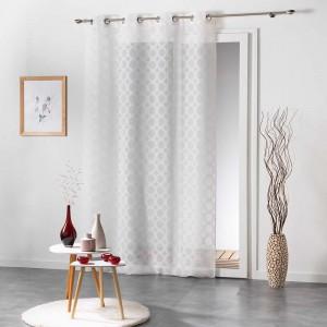 Bílé záclony v elegantním stylu SOLEDAD