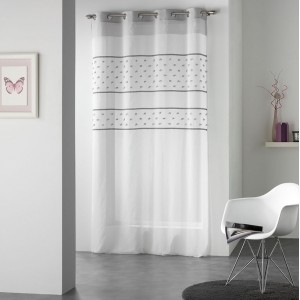 Luxusní záclony bílé barvy TELMO