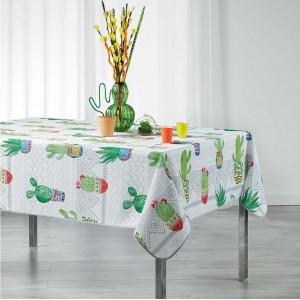 Pestrý kuchyňský ubrus s kaktusy MELOCACTUS