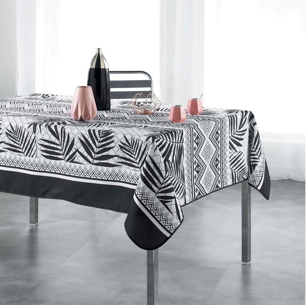 Moderní ubrus na kuchyňský stůl YANTRA 150 x 240 cm