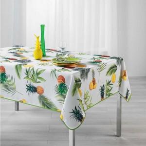 Ubrus na stůl s pestrým potiskem FRESH ANANAS