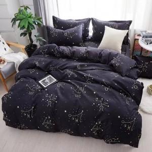 Kvalitní ložní prádlo černé barvy