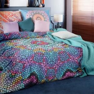 Exkluzivní bavlněné ložní povlečení s barevným vzorem