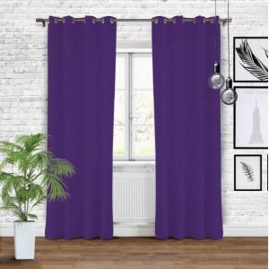 Moderní závěsy fialové barvy s vysokým stupněm zatemnění