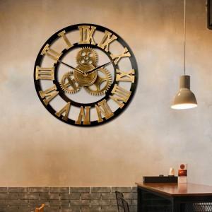 Stylové hodiny ze dřeva