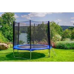 Kvalitní zahradní trampolína 374 cm