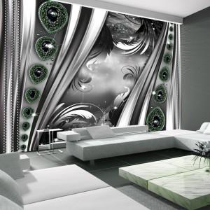 3D tapeta s abstraktním motivem