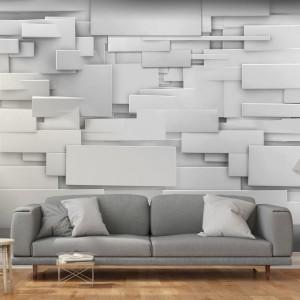Stylová 3D tapeta s abstraktním zvýrazněním prostoru