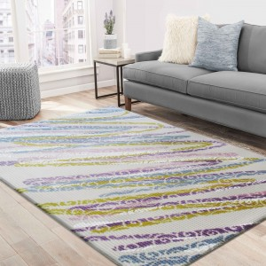 Barevný koberec do obýváku
