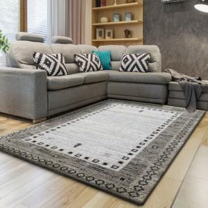 Originální koberec v béžové barvě