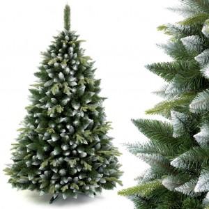 Vánoční stromek s bílými větvičkami borovice