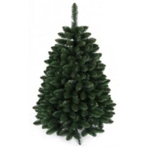 Hustý tmavě zelený vánoční stromek