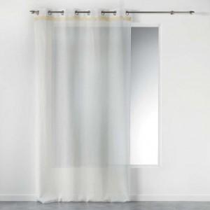 Jemná elegantní záclona v bílé barvě FRANGY