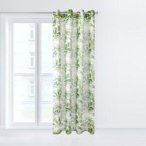 Luxusní dekorační závěs s motivem palmových listů